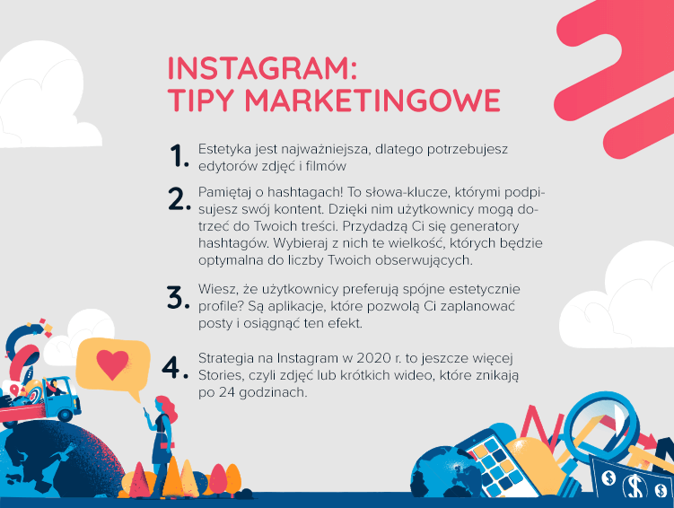 Tipy marketingowe do prowadzenia Instagrama w 2020