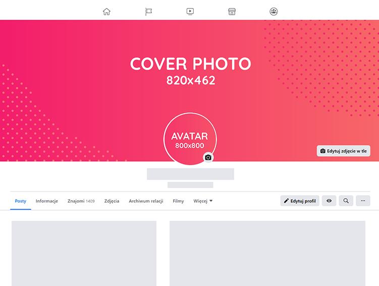 Cover photo avatar Facebook